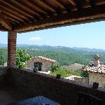 La torre vecchia -vue from the terrace