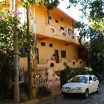 Front of Casa Adriana