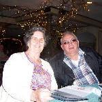 Aunt Imogene & Uncle Paul Ray at Hickory Log