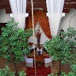 Zolah courtyard