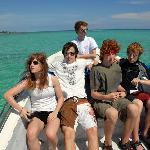 The boat ride to Bacalar Chico