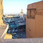 Another roof-top view of Djemaa el-Fna