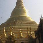 Word famous shwedagon pagoda rangoon Burma