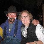Granny and the rodeo clown