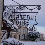 chateau julie enneigé