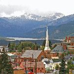 Downtown Leadville in September