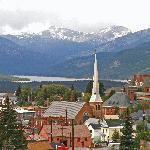 Downtown Leadville in September