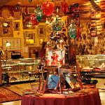 Gift shop and registration desk