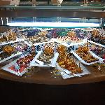 One of the dessert tables, there was another full of baklavas!