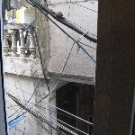 """Hanoi Old Quarter Hotel - """"city view"""" from Window"""