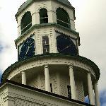 Town Clock Tower -- Diagonal View