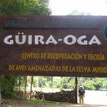 À Güira-Oga. L´entrée