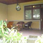 front veranda room 102