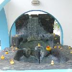 ducks' fountain