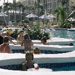 tourbillon insérer au piscine
