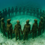 Underwater Sculptures Foto