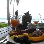Try the 5 star breakfast buffets at nearby resorts - Great Views at not add'l charge :0)