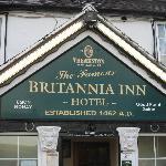 Britannia Inn Entrance