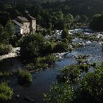 The River Dee from Llangollen Bridge