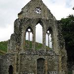 Valle Crucis Abbey ruins near the Inn