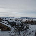 Picture of La Montana after snow
