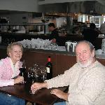 Laurie and Bruce at La Mer