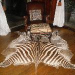 Reception area rug