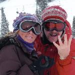 Celebrating Mark's Big 40 on the slopes