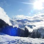 View from the Ski Slope in Neiderau