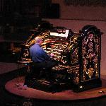 Charlie at the organ