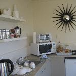 Kitchenette in the Garden Suite