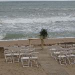 La boda en la playa