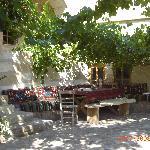 Dining area on terrace