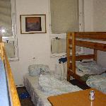 8-bed male dorm