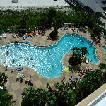 pool at condo