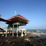 Seaside pavilion at Marukatayawan Palace