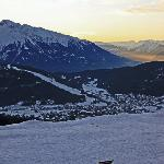 A view of Seefeld, from the top of Rosshutte