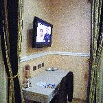 tv and dressing table