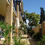 Nautilus Lodge Courtyard