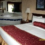 King room with in room jacuzzi