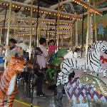 The old merry-go-round