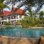 Pool near reception