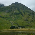 Travelling through Glencoe