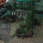 Garden at rear of Rungaran de Challet