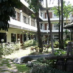 garden area at Charlie House - Peace perfecr Peace
