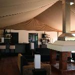 The lodge bar