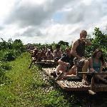 Don't miss the bamboo train once you've escaped the TEO