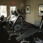 fitness room with equipment