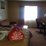 Our room, such as it was!!