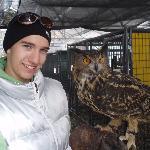 Alex & Malichi, the owl